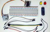 Arduino Nano und Visuino: Schrittmotor mit Tasten steuern