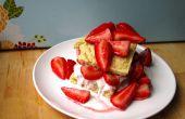 Einfach vegane Strawberry Shortcake