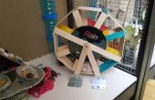 Achteckige Hamsterrad und Spielhaus