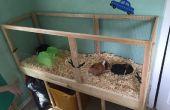 Bauen Sie einen Meerschweinchen Käfig mit leicht zu reinigen! (Projekte mit Kindern)
