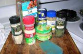 Machen Sie Ihre eigenen hausgemachten Tomaten Sauce verwenden frische Tomaten und alle natürlichen Inhaltsstoffe