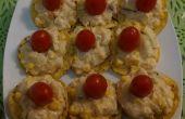 Ananas und Hähnchen SNACK / Salat