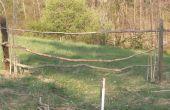 Natürlichen Zaun aus ohne Nägel nur Zweige