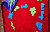 Kleinkind-Fleece-Decke mit Autos Muster
