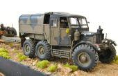Militärische Modell: Scammell Pionier R100