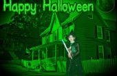 Halloween-Bildbearbeitung mit Pixlr
