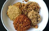 Instant-Haferflocken Cookies: ein Experiment