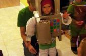 Kinderkostüm mit Sound-Effekte und Candy-Detektor Roboter