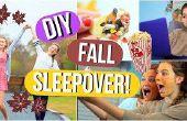 DIY-Herbst Sleepover! Fun Aktivitäten, Leckereien und mehr!