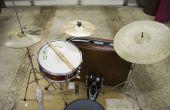 Bauen ein Koffer Drum Set