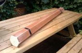 Rainstick hergestellt aus Holz Jalousien