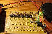 Wie erstelle ich ein elektronisches Klavier mit einem 555 IC