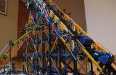 Stahl-Python Knex Achterbahn