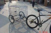 Kiddie-Fahrrad-Anhänger, alle erwachsen