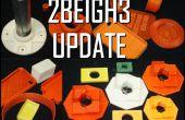 2BEIGH3 3D Drucker Update und fordern Tester