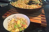 Gebratener Reis in 15 Minuten Ei