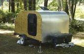 Bauen Sie Ihr eigenes Teardrop-Camping-Anhänger!