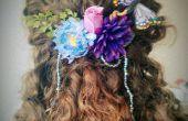 Machen Sie Ihre eigenen Blumen faerie Haarschmuck! Ideal für Hochzeiten und Kostüme.