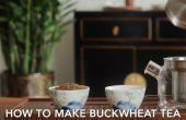 Wie man Buchweizen Tee (Soba Tee)?