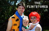 Die Flintstones Familie Halloweenkostüme