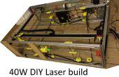 DIY 40W CNC-Laser-Cutter, vom schlecht, um besser mit 3D Druck
