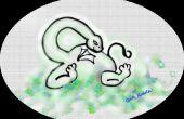 Zeichnen Sie ein Baby-Drachen-t-Stück mit My Paint Software