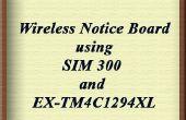 WLAN-Schwarzes Brett mit SIM-300 und EK-TM4C1294XL