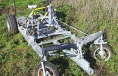 Fahrrad betrieben 4-Rad-Fahrzeug (DiffBikeDorli)