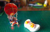 RC-Ballon-Bomber vom Kampf der Clans