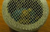 Hydroponische wiederverwendbare Samen abzubrausen