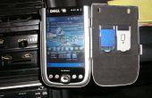 PDA Autohalterung aus Zucker frei Altoids (Aluminium Gehäuse Zinn)