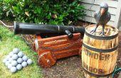 Halloween Piraten Kanone (und Nebel Maschine verstellen)