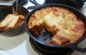Einfach Dutch Oven Lasagne