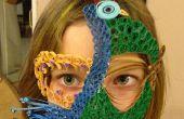 Quilled Mardi Gras Maske
