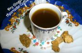 Trocknen Sie Ingwer ayurvedischer Kaffee (Chukku Kapi)