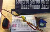 Servo mit Kopfhöreranschluss zu steuern