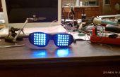 FUNKY RAVE Gläser (LED MATRIX Brille verwenden A PICAXE)