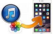 Gewusst wie: extrahieren Kamera Roll Fotos von iTunes