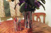 Vase und Bleistift Zeitschriftenhalter