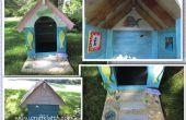 Doghouse Strandhaus DIY - mit recycelten/Repurposed Materialien