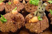 Rascally Kaninchen! (Cupcake-Rezept und Dekoration)