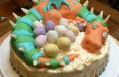 Wie erstelle ich einen Drachen Kuchen