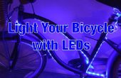 Fahrrad-LED-Leuchten