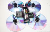 Fliegen DVDs Quadcopter DIY