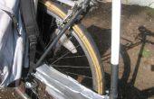 Recycelte Fahrrad-Reifen als Fender