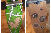 DIY Longboard Renovierung (Grafiken und Grip Tape)