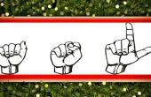 American Sign Language: Grundlegende dialogorientierte Kommunikation und Feiertagsgrüße