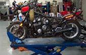 Wie man saubere Motorrad Gastanks