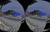 Virtuelle Realität Minecraft 1.8 mit Google Karton