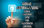 Home-Automation mit Arduino mit Wifi, Bluetooth und IR-Fernbedienung